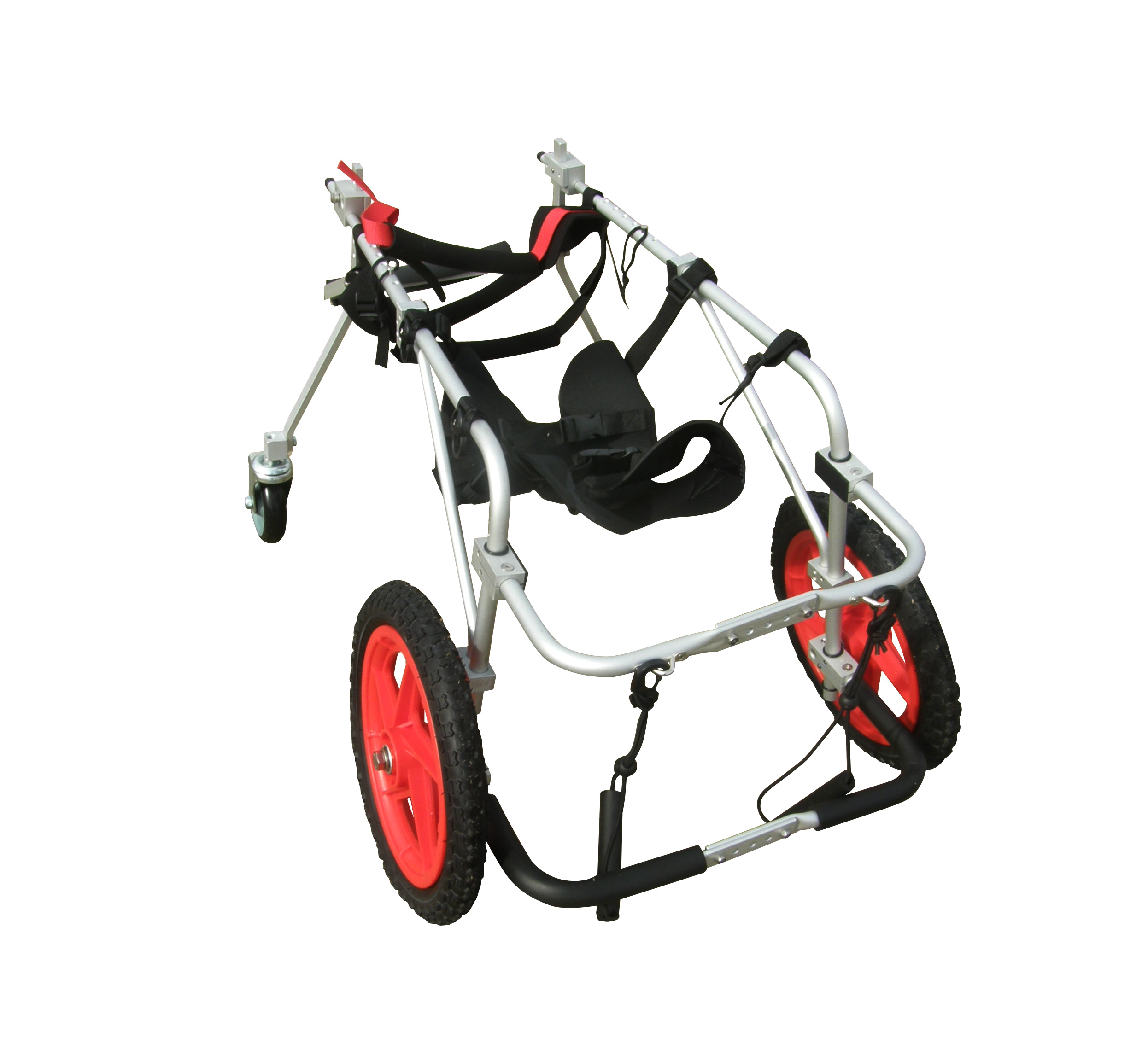 Quad/Full Support Dog Wheelchair L