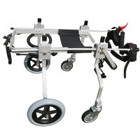 Quad Support Dog Wheelchair M